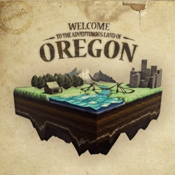 There are 16 things to find in The Land of Oregon. How many items can you find? Visit the site, take a look around, and start exploring.