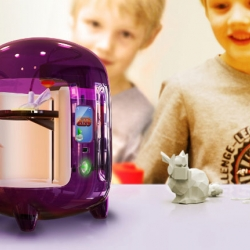 Origo is a 3D printer for kids. Easy to use, the Origo works straight out of the box. It lets kids make their own world.