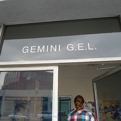 Behind-the-scenes photo tour of West Coast print powerhouse- Gemini G.E.L. This is where the magic happens.