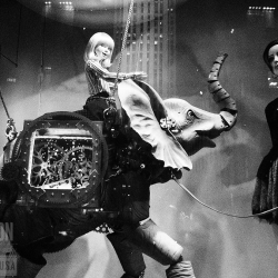 Some dramatic Black & White photos of the Saks 5th Ave. Holiday Window displays...