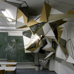 The last Clemens Behr's installation at Beuth University in Berlin.
