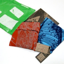 PACT claims 45 day biodegradable shipping pack and labels, and pouches for each underwear... but what do they look like? Here's a peek into the packaging of the yves behar design undies... (and discount code too!)