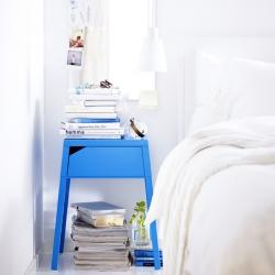 New bedroom table Selje by Ikea.