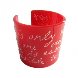 The romantic murmurs of the 'little prince' for you to carry on your arm when you're feeling whimsical