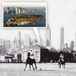 Veuve Clicquot Manhattan Polo Classic will take place on Governors Island (Sat 31 May) and can you believe that this will be the first time Polo will be played in NYC for over 70 years... open to the public!