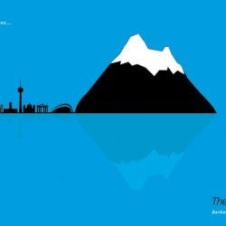 THE BERG. How to invent a mountain and…