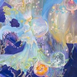 Beautiful Souls consisting - by ukrainian artist Valentina Tchaikovska