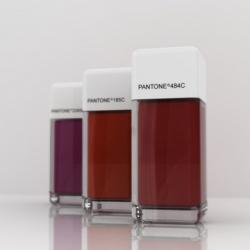 Pantone NailPolish to be used with #18540 Pantone Eye Shadows. I wish these really existed...