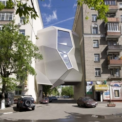Parasite Office designed by Za Bor Architects.