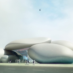 Denmark-based Henning Larsen Architects has won first prize in an invited competition to design the Batumi Aquarium in Georgia.