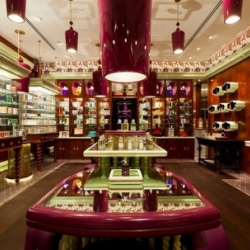 London based design practice, Jenner Studio has recently completed this interior design project; a new boutique in Singapore for the British fragrance house, Penhaligon's.