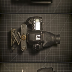 A Canon 5Dmkii View Camera. Nearly 100 year old folding camera + Canon 5D = haunting images.