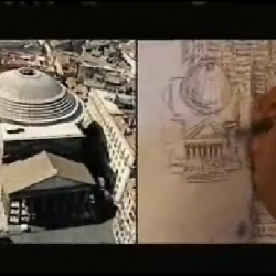 Great video of Stephen Wiltshire, an artistic savant drawing a 12ft panorama of Rome from memory after seeing the city for only 45 minutes.