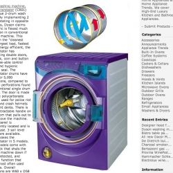 While revolutionizing home appliances.... (think ball vacuum) - Dyson follows it up with the Washing Machine, which has two contrarotating drums...