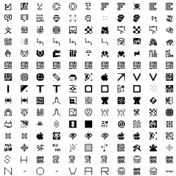 So Many Tiny Icons at MIT - go make your own