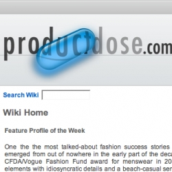 ProductDose launches brand-wikis ~ hopefully this will be a nice way we can keep track of  great products and brand histories