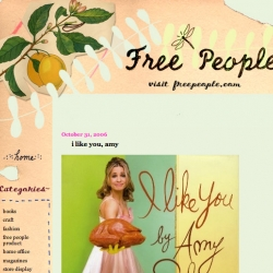 On corporate blogging gone right - Free People joins in
