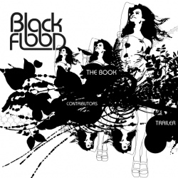 Black Flood - black and white illustration book with a TRAILER that you NEED to see. Breathtakingly gorgeous.