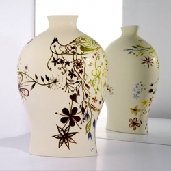More Tord Boontje! Vases for Moroso.