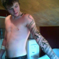 Wow that's an impressive pi tattoo