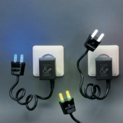 Paul Baars Plug Nightlights ~ via Polkadot.it