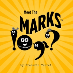 Right Brain Terrain brings you Meet the Marks. Kids book? Typographic playground? It's cute and worth a flip through.
