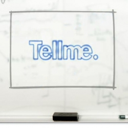 TellMe - while my phone isn't supported yet ~ i'm still intrigued by this new mobile service/411 killer, and love their web design... especially this great little video running on their homepage.