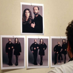 GOOD magazine readers ~ remember that sweet portrait of the Wooster couple? Check out the behind the scenes...