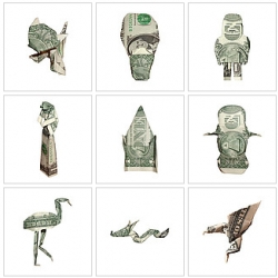 Moneygami: this restored my faith in origami.
