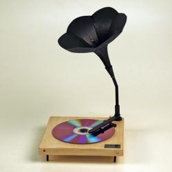 CD player (2007) yong jieyu + ama - A 2 day workshop with Joris Laarman - such a beautiful design concept