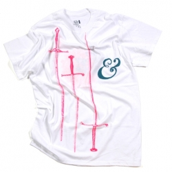 Awesome Swords tee by Mike Perry