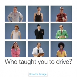 Relearn to drive ~ BMW's Performance Driving School made some videos of the cliche bad driving teachers...