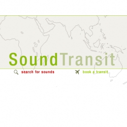 Travel without moving. Using the ear s can move heart ~ Sound Transit: SoundTransit is a collaborative, online community dedicated to field recording and phonography.