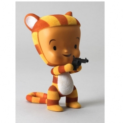 "Gama-Go will release the long-rumored 6.5"" Tigerlily vinyl at their SDCC booth (#4838).  Tigerlily is dressed to kill in a flocked Tiger suit with a revolver accessory."