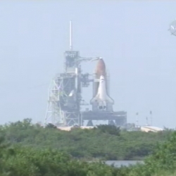 Space shuttle endeavor launches at 3:36 to day.  watch it live on nasa tv