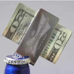 Beerclip - money clip that even opens bottles! Maybe notcot needs some schwag?