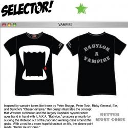 Fun Vampire Tee by Selector