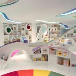 Children bookstore in Beijing. Where was this when I was a kid?