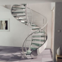 Geoffrey Packer's DNA Staircase... i am in awe... and desperately need it in my future loft