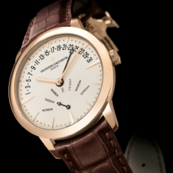 Vacheron Constantin Patrimony Bi-Retrograde, mesmerized by the layout of this watch face ~ with full calendar essentially....
