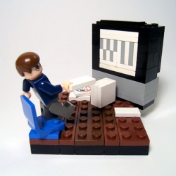 Lego Wii-ing...