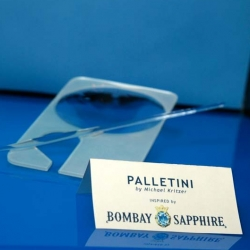 Bombay Sapphire has been running it's Design Glass competition annually and the winner this year is Paletini by Michael Kritzer. Go see the runner's up as well.