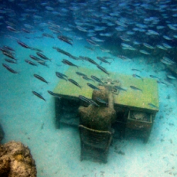 The twist to this sculpture park is that its all underwater. Underwater Gallery - Grenada, West Indies
