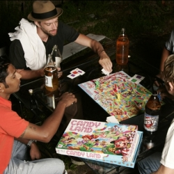 Attus Apparel has a hilarious new photoshoot of grown men playing... Candyland? All while wearing their signature polos.