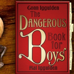 The Dangerous Book For Boys - Everything fun about being a kid, in one big volume.  The website has sample tips & facts,  some sweet downloadable badges, and even a trailer for the book.