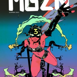Secretive NYC organization LVHRD (live hard) publishes the 3rd issue of their interactive pdf MGZN with a cover by Paul Pope.