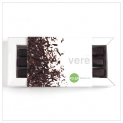 "I can't sleep and i am craving chocolate - like these Vere hybrid brownies... ""totally natural, low in sugar, loaded with flavor and can be enjoyed as an everyday luxury."" So they are good for you! And gorgeous packaging"