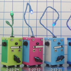 Bleep Bloop Bleep Bleep.Blink blink. Bleep Labs makes little THINGAMAGOOP.your own little synth. I want 5.