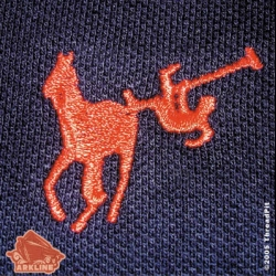 For the anti traditional polo shirt - this one represents the real dangers of polo playing...