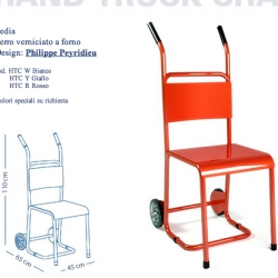 hand-truck chair. For moving the immovable.